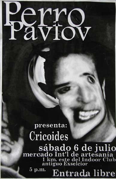 Perro Pavlov Afiche Cricoides